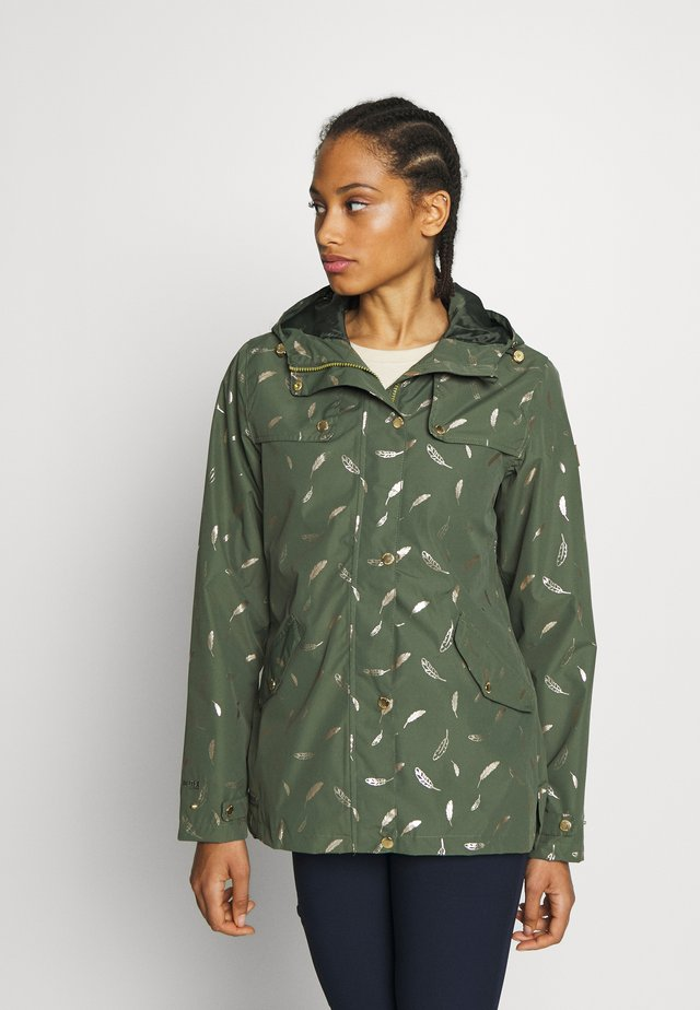 BERTILLE - Waterproof jacket - thyme leaf
