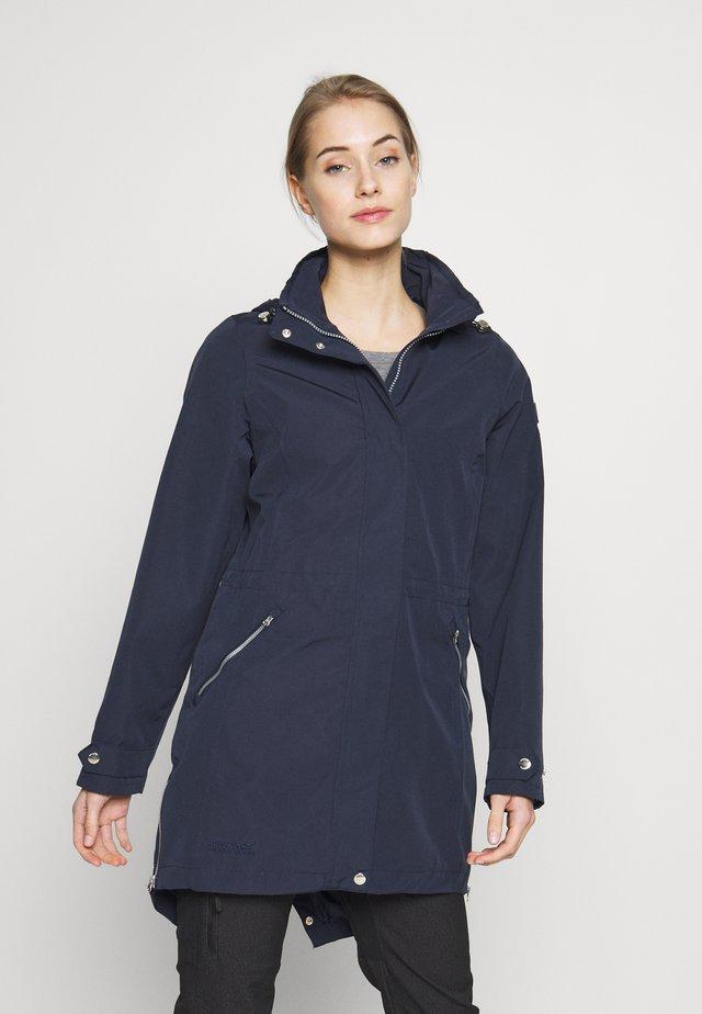 ALERIE - Regnjakke / vandafvisende jakker - navy