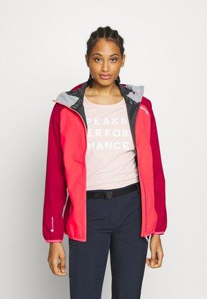 WOMENS IMBER - Waterproof jacket - neon pink