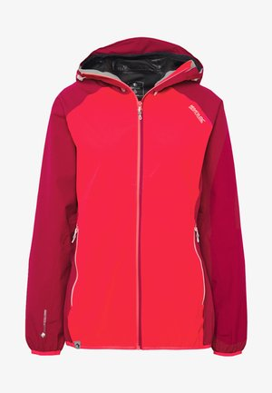 WOMENS IMBER - Waterproof jacket - neon pink