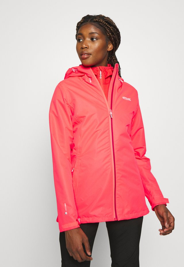 HAMARA  - Waterproof jacket - neon pink