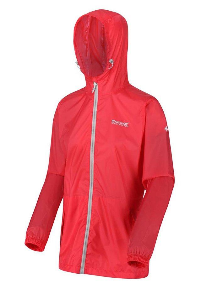 Waterproof jacket - dark cerise