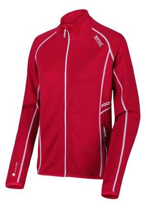 HENTANA  - Fleece jacket - dark cerise