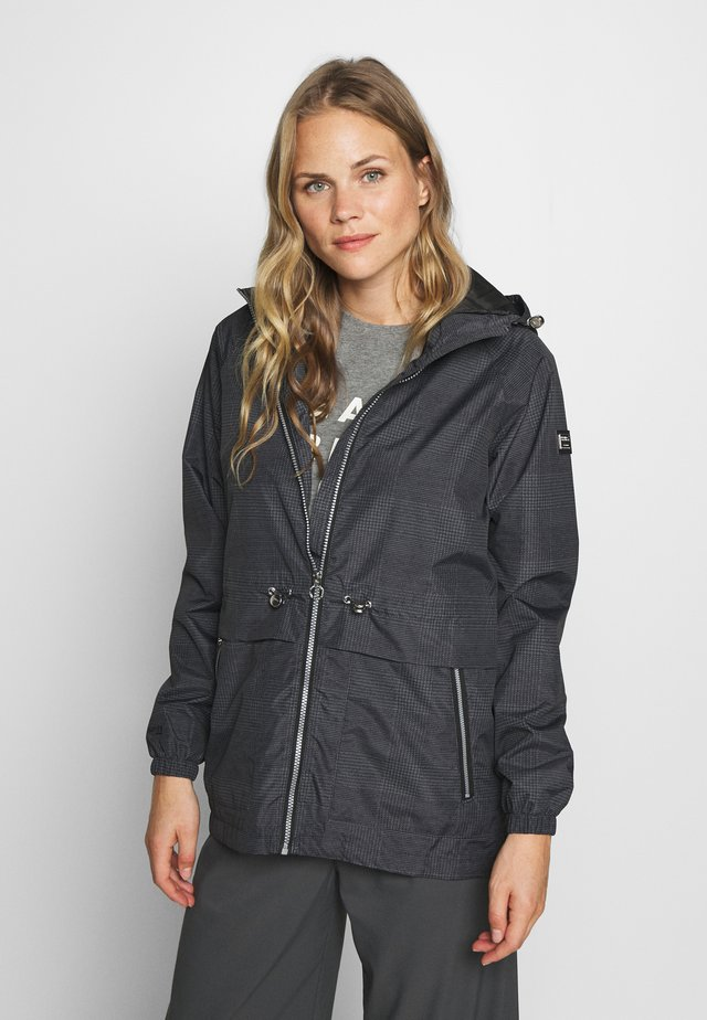 BARBO - Waterproof jacket - lead grey