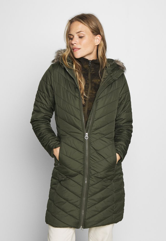 FRITHA - Winter coat - dark khaki