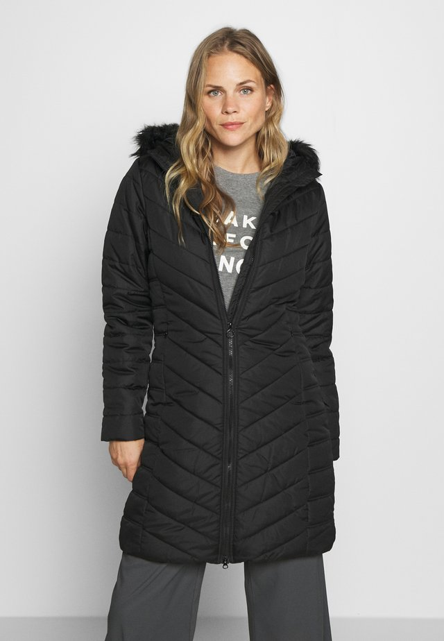 FRITHA - Winter coat - black