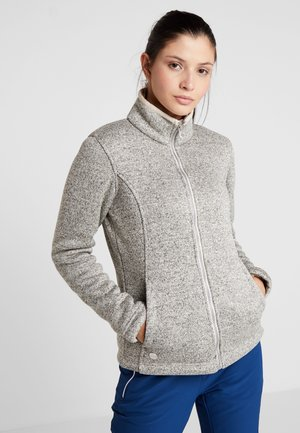 RAIZEL - Fleecejacke - light grey