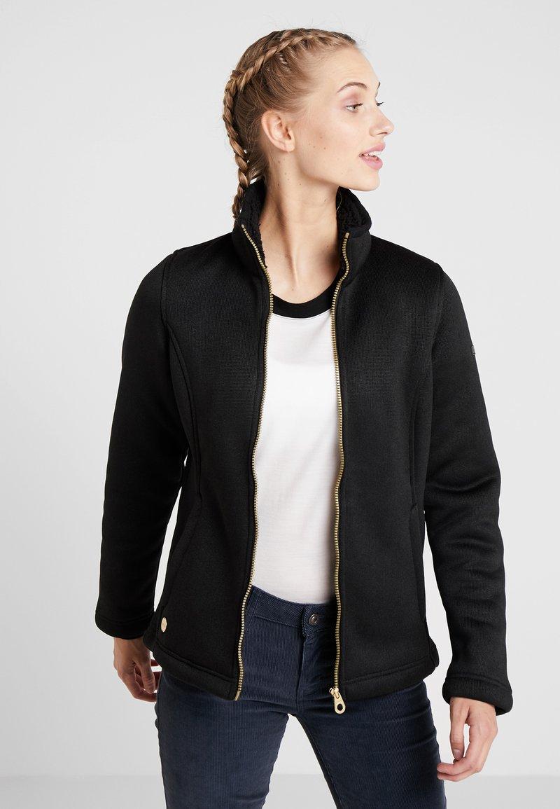 Regatta - RAIZEL - Fleece jacket - black/gold