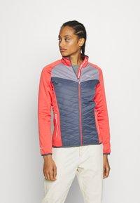 Regatta - BESTLA HYBRID - Fleece jacket - redsky/onyx - 0