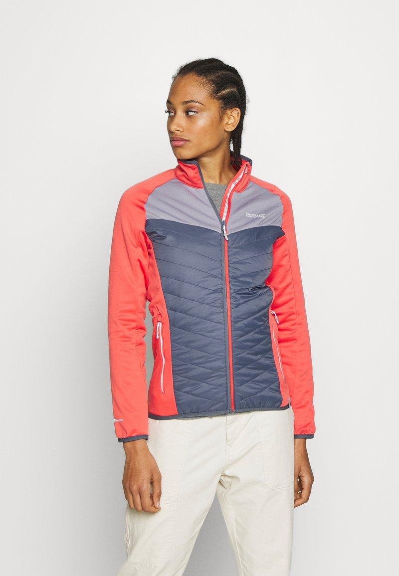 Regatta - BESTLA HYBRID - Fleece jacket - redsky/onyx