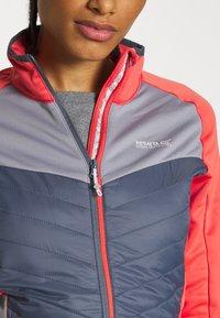 Regatta - BESTLA HYBRID - Fleece jacket - redsky/onyx - 4