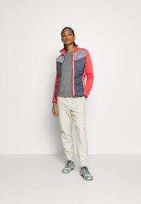 Regatta - BESTLA HYBRID - Fleece jacket - redsky/onyx - 1