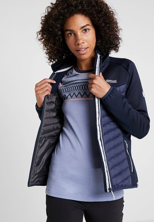 BESTLA HYBRID - Fleece jacket - navy