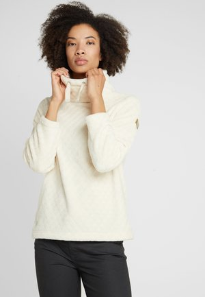 HANISKA - Fleece jumper - light vanilla
