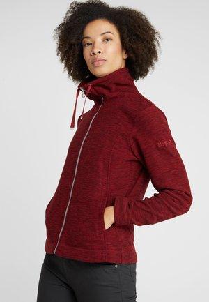 ZYRANDA - Fleece jacket - delhi red