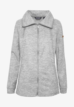 EVANNA - Fleece jacket - rock grey