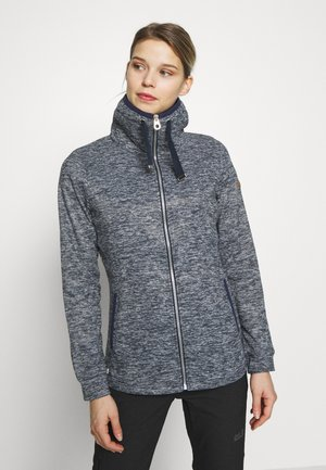 EVANNA - Fleece jacket - navy