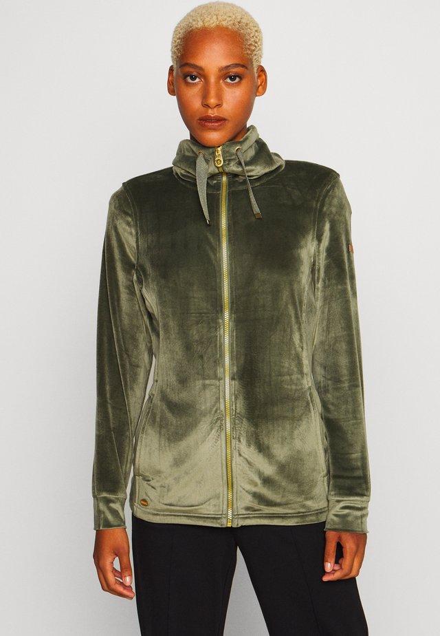 ODELIA - Fleecová bunda - thyme leaf