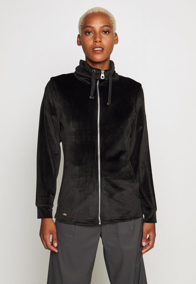 ODELIA - Fleece jacket - black
