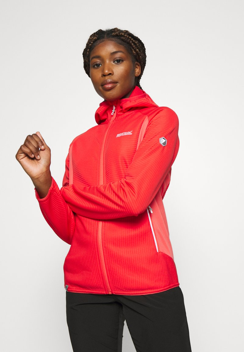 Regatta - WOMENS TEROTA - Fleece jacket - red sky