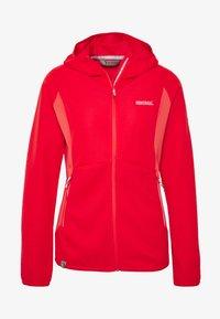 Regatta - WOMENS TEROTA - Fleece jacket - red sky - 5