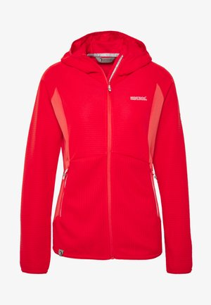 WOMENS TEROTA - Fleece jacket - red sky