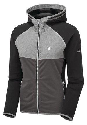 COURTEOUS - Fleece jacket - black/ebony