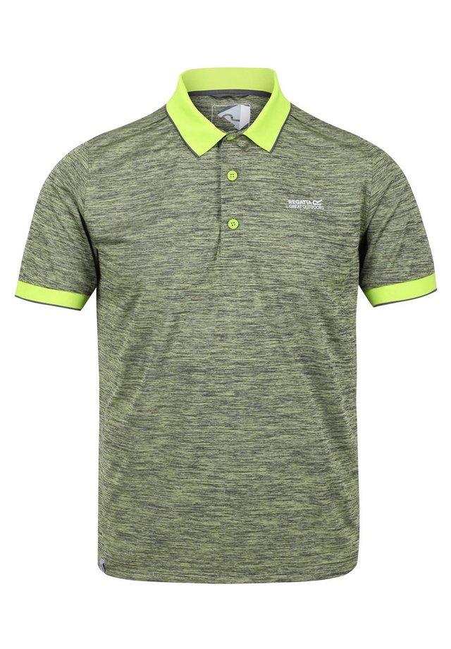 REGATTA REMEX II WANDER POLO FUNKTIONS SHIRT HERREN ELECTRICLIME - Polo shirt - electriclime
