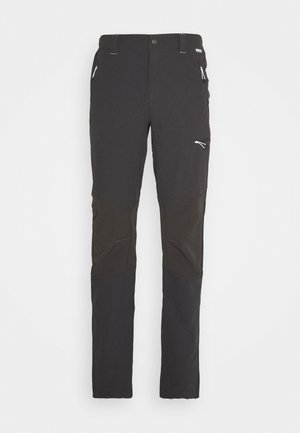 QUESTRA - Długie spodnie trekkingowe - ash