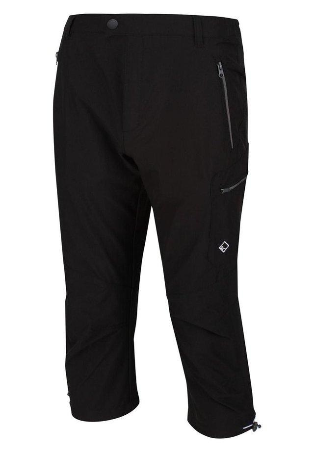 REGATTA HIGHTON CAPRI WANDERHOSE HERREN TREKKINGHOSE OUTDOORHOSE - 3/4 sports trousers - black