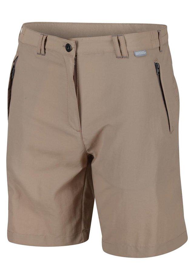 REGATA LEESVILLE SHORTS II KURZE WANDERHOSE HERREN TREKKINGHOSE  - Outdoor shorts - parchment