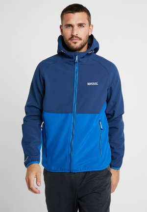 AREC  - Soft shell jacket - dark blue/blue