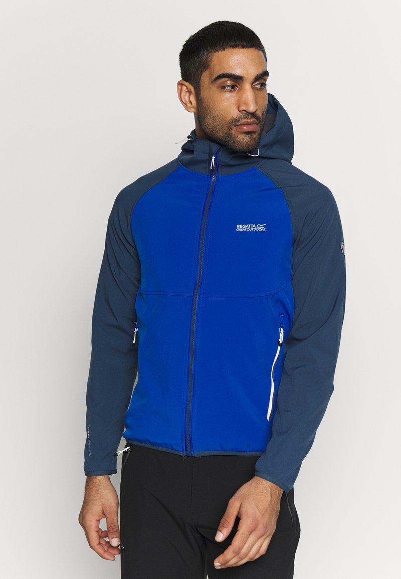 Regatta - AREC  - Softshellová bunda - nautical blue/dark denim