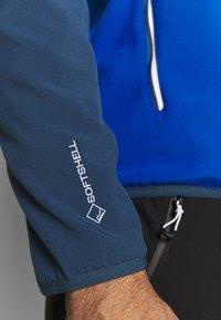 Regatta - AREC  - Softshellová bunda - nautical blue/dark denim - 5