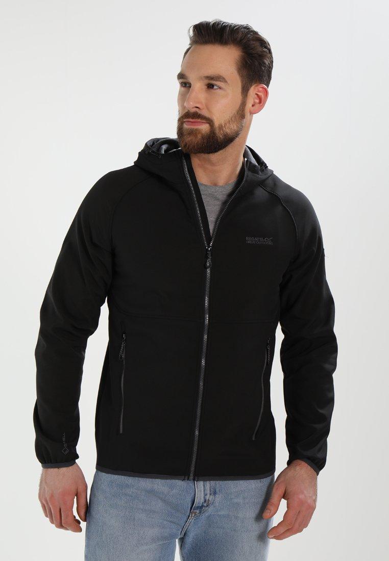 Regatta - AREC  - Softshellová bunda - black