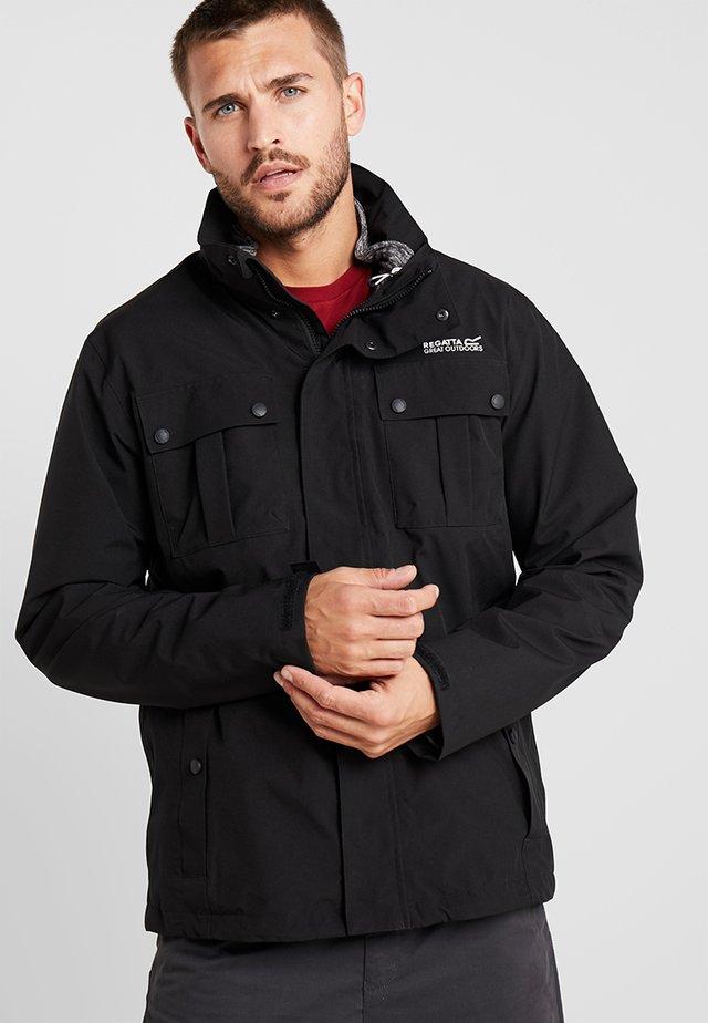 NORTHTON 2-IN-1 - Hardshell jacket - black