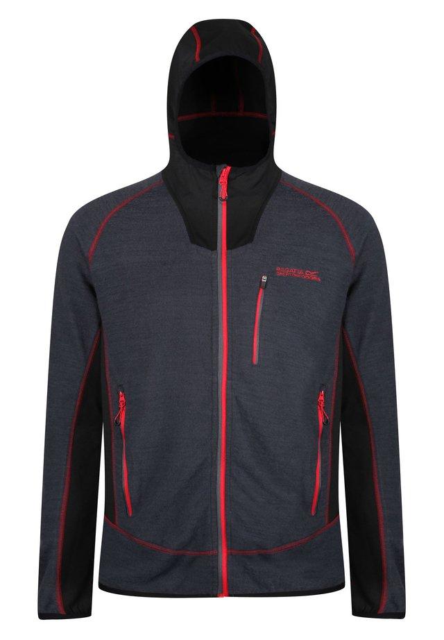 Fleece jacket - seal grey/bl