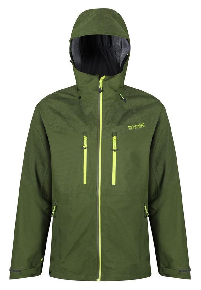 Outdoor jacket - racing green