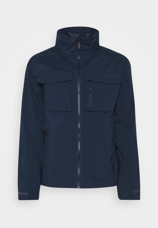 SHRIGLEY 2-IN-1 - Outdoorjas - dark blue