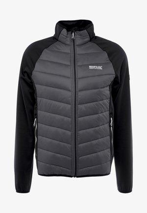 BESTLA HYBRID - Outdoorová bunda - black/magnet