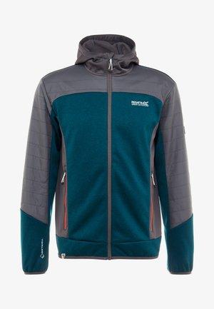HASKA HYBRID - Fleecejacka - turquoise/grey