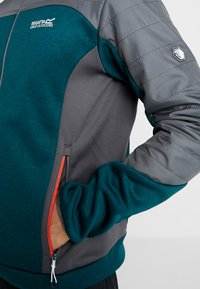 Regatta - HASKA HYBRID - Fleecejacke - turquoise/grey - 4