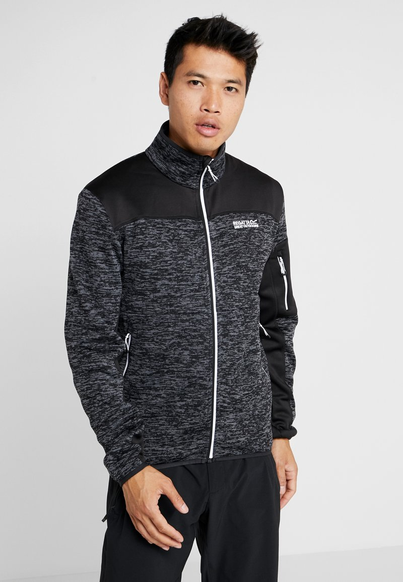Regatta - COLLUMBUS - Fleece jacket - black