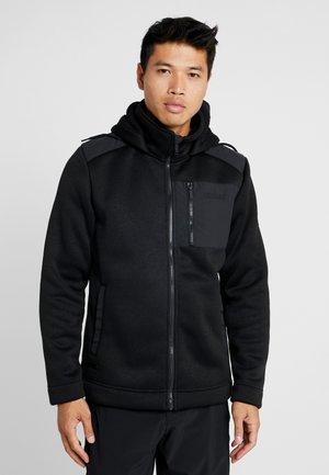 WESTBROOK - Fleecová bunda - black