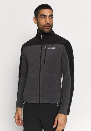 FELLARD - Fleecová bunda - magnet/black