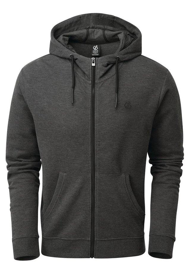 MODULUS  - Zip-up hoodie - charcoalgrey
