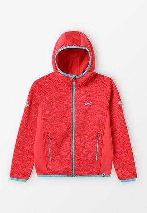 DISSOLVER  - Fleece jacket - coral