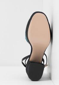 Red V - Sandály na vysokém podpatku - black/multicolor - 4