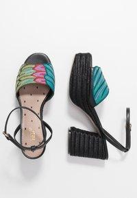 Red V - Sandály na vysokém podpatku - black/multicolor - 1