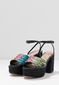 Red V - Sandály na vysokém podpatku - black/multicolor - 2